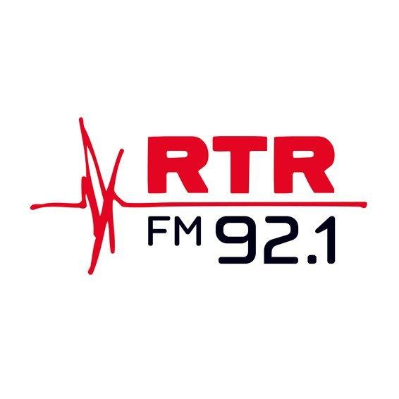 RTR FM 92.1 Perth, Australia Radio Logo