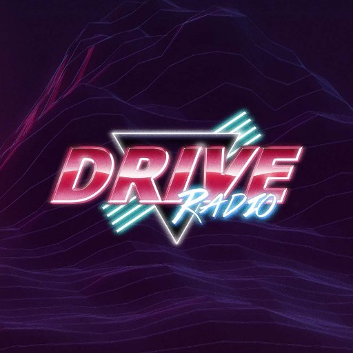 DRIVE Radio - Back To The 80's Radio Logo