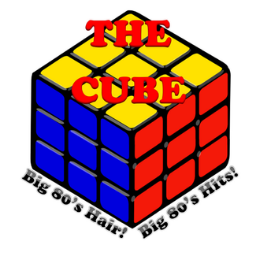 The Cube - All 80s All The Time Radio Logo