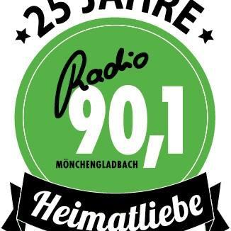 Radio 90.1 Radio Logo