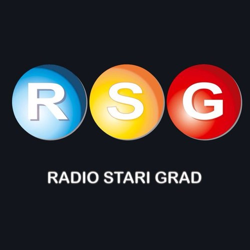 Radio Stari Grad Kragujevac 104.3 FM Radio Logo