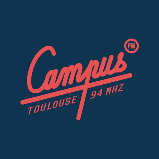 Radio Campus Toulouse 94 FM Radio Logo