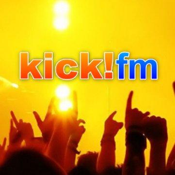 kick!fm Radio Logo